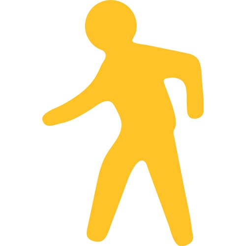 PermaLean TL77 Walking Figure 13in x 19.6in